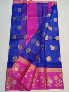 Kota Silk Saree Blue
